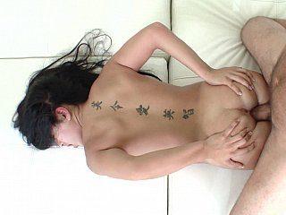 POV anal fingering
